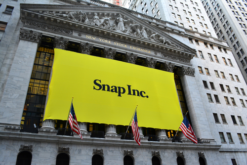 Snap Now is Trading Near its IPO Price