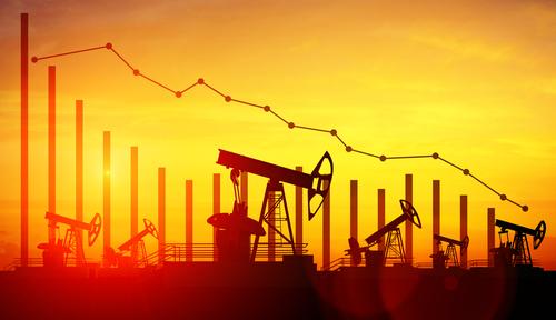 Oil Down, Stock Market Dips