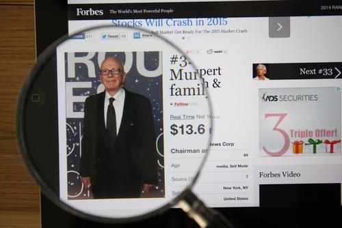 Rupert Murdoch's Attempt to Buy Britain's Sky TV-Group Halted