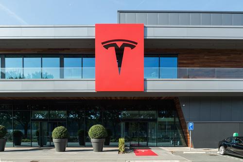 Tesla Inc. Shares Down Sharply After Goldman Sachs Downgrade