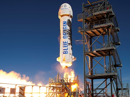 Blue Origin Taking Tourists Into Space Early by 2019
