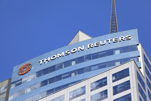 Thomson Reuters beats Q3 earnings estimates but shares fall