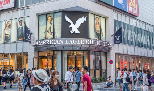 American Eagle Shares Up After Earnings Report
