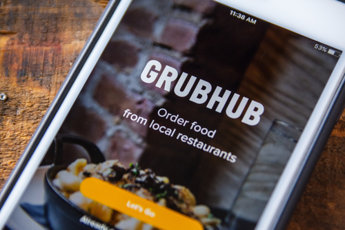 GrubHub's Shares Rose After Earnings Report