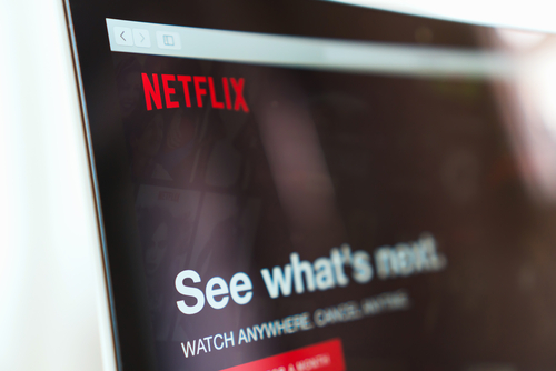 Netflix shares surge to all-time high