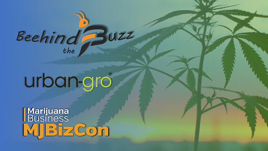 "The Latest ""Beehind the Buzz"" Show: Featuring urban-gro Inc. CEO, Bradley Nattrass"