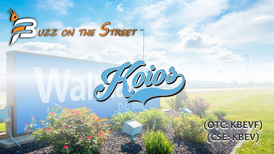"The Latest ""Buzz on the Street"" Show: Featuring Koios Beverage Corp. (OTC: KBEVF) (CSE: KBEV) Report"