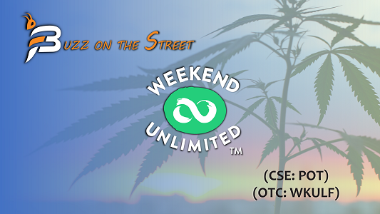 """The Latest """"Buzz on the Street"""" Show: Featuring Weekend Unlimited (OTCQB: WKULF) (CSE: POT) at SXSW"""