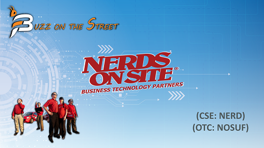 "The Latest ""Buzz on the Street"" Show: Featuring Nerds on Site (CSE: NERD) (OTC: NOSUF) CEO Update"