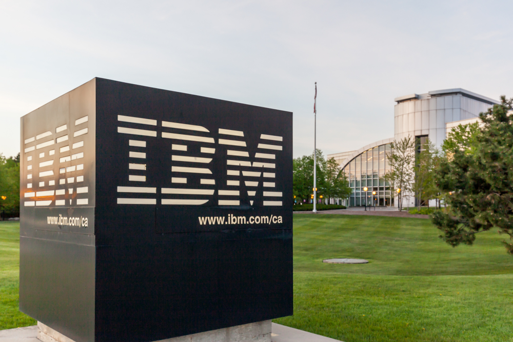 IBM Shares Topple on Declining Revenues